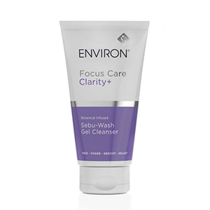 environ botanical infused sebu-wash gel cleanser